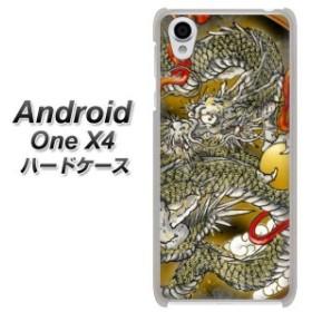 Android One X4 ハードケース / カバー【VA830 龍と玉 素材クリア】 UV印刷 (アンドロイドワン X4/ANDONEX4用)
