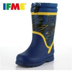 イフミー キッズ 長靴 IFME RAINBOOTS 80-8727 BLUE レインブーツ ブルー 防水 防滑