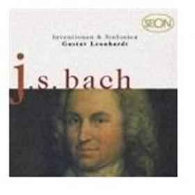グスタフ・レオンハルト(チェンバロ) / バッハ: インヴェンションとシンフォニア [CD]