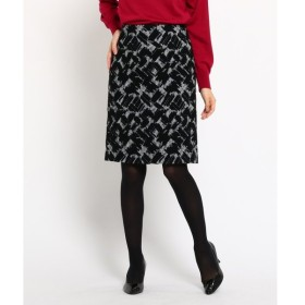 COUP DE CHANCE / クードシャンス デザインジャガードスカート