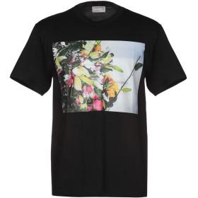 《期間限定セール開催中!》A. FOUR LABS メンズ T シャツ ブラック S コットン 100%
