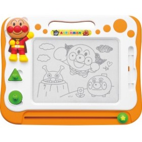 アンパンマン 天才脳らくがき教室ベビー キッズスプーン フォーク 皿 電子レンジ対応/2400823