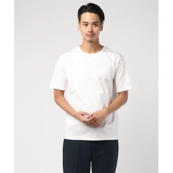 ESTNATION / ディオラマスムースカットソー ホワイト/LARGE(エストネーション)◆メンズ Tシャツ/カットソー