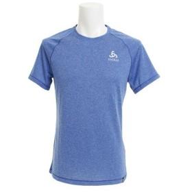 オドロ(ODLO) 【オンライン特価】BL TOP Crew neck AION Plain 半袖Tシャツ 350272 energy blue melange (Men's)