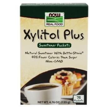 キシリトールプラス 個包装 75回分 135g NOW Foods ナウフーズ