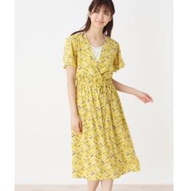 SHOO・LA・RUE / シューラルー 花柄カシュクールワンピース