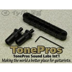 TonePros / #172 T3BT-B Black ガッチリ固定できるブリッジ!! (取寄品)(U-BOX_MEGA_STORE)