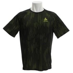 オドロ(ODLO) 【オンライン特価】BL クルーネック 半袖Tシャツ VIGOR 350102 acid lime-black (Men's)