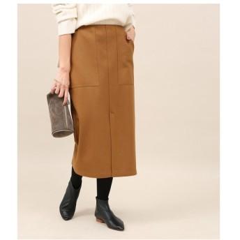ROPE' / ロペ 圧縮ウールタイトスカート