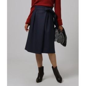 UNTITLED / アンタイトル 【VERY×UNTITLED】サッシュベルト付ミディ丈スカート
