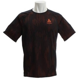 オドロ(ODLO) 【オンライン特価】BL クルーネック 半袖Tシャツ VIGOR 350102 flame-black (Men's)
