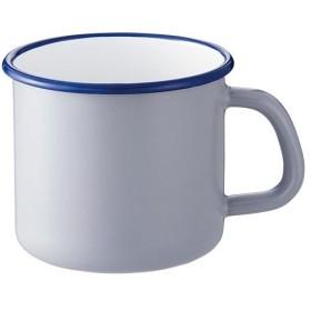 サンロクゴ・メソッド(365methods) ホーローマグ ライトグレー×ネイビー 9cm YY-9MG.G マグカップ コップ 食器 ギフト 贈り物 プレゼント 贈答品