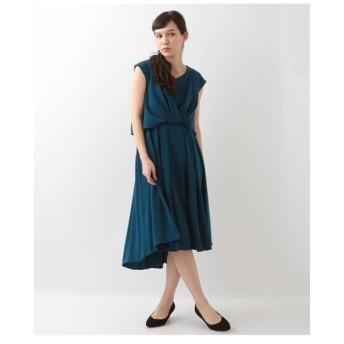 OFUON / レイヤード風ワンピースドレス