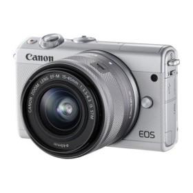 【新品】CANON EOS M100 15−45レンズキット WH
