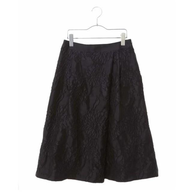 HIROKO BIS / 花柄ジャカードスカート