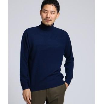 TAKEO KIKUCHI / タケオキクチ フルカシ タートル ネックニット[ メンズ ニット カシミヤ ]