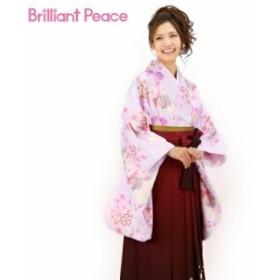 卒業式 袴 レンタル 女 袴セット 女 卒業式袴セット2尺袖着物&袴 フルセットレンタル  安い