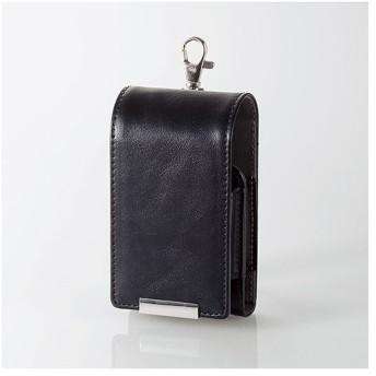 エレコム ET-GLAP4BK 電子タバコ glo 専用 オールインワンケース ソフトレザー 綿棒ポケット付 ブラック