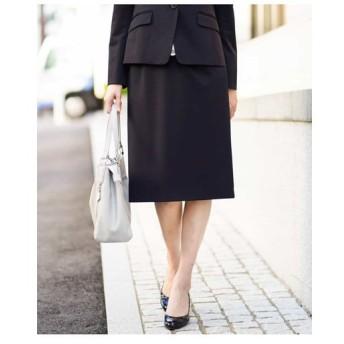 MICHEL KLEIN / 【セットアップ対応/洗える】ストレッチセミフレアスカート