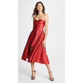 ブラックハロー ドレス ブラック 黒ドレス レディース【Black Halo Caine Dress】Red