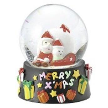 ウォータードーム(メリークリスマ)(クリスマス商品・雑貨・オブジェ)