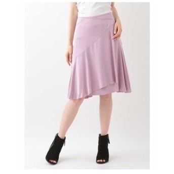 TARA JARMON / ドレープサテンスカート