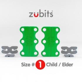 シューズクローザー Zubits Size1(緑) ZU1GRN