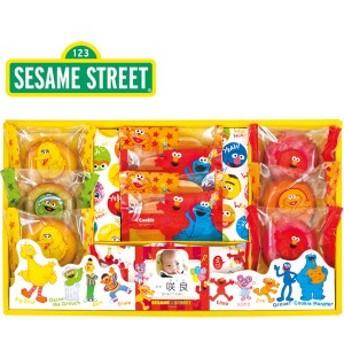 出産内祝い 名入れセサミストリート ドーナツ ギフト SSM-25おしゃれ お菓子 スイーツ/SSM-25