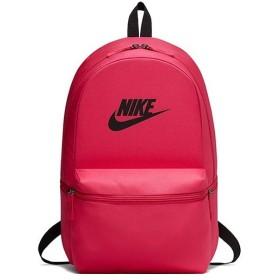 ナイキ(NIKE) ヘリテージ ソリッド バックパック ラッシュピンク/ブラック BA5749 666 デイパック リュックサック スポーツバッグ バッグ 鞄