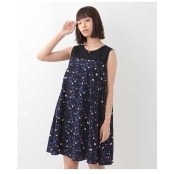 TARA JARMON / レース切り替えドレス