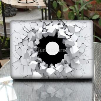 Perfk New MacBook Pro 13.3インチに対応 ラップトップ スキン ステッカー カバー アート デカール プロテクター 防水 非退色 全5タイプ - タイプ5