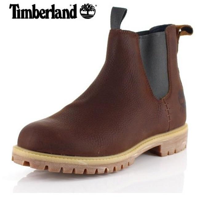 ティンバーランド Timberland 45 メンズ ブーツ シックスインチ プレミアム チェルシー A1UHZ ブラウン サイドゴアブーツ 靴 セール