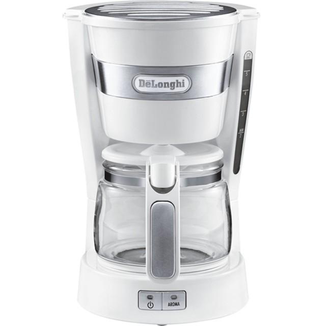 デロンギ ドリップコーヒーメーカー ホワイト ICM14011J-W (1台)