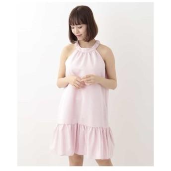 TARA JARMON / グログランティアードドレス