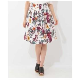 OFUON / フラワープリントスカート