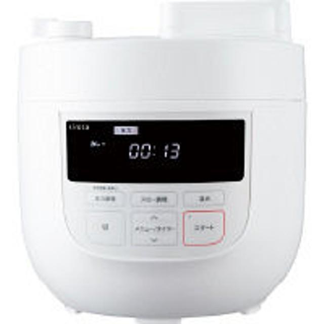 シロカ 電気圧力鍋 ホワイト SP-4D151(W) 容量4L