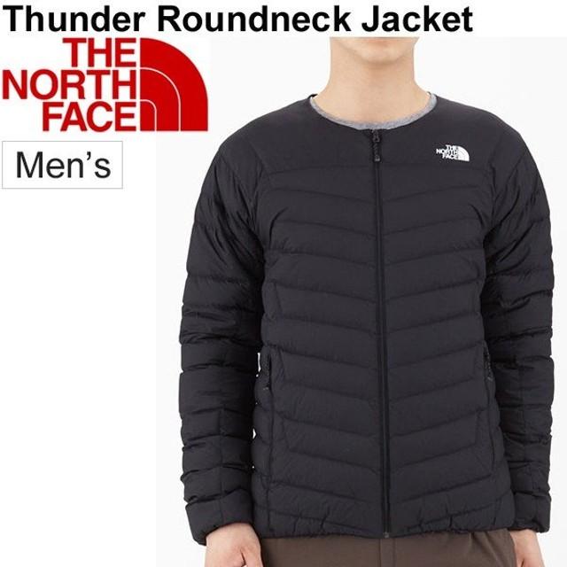 ダウンジャケット ノーカラージャケット メンズ ノースフェイス THE NORTH FACE サンダー ラウンドネック/アウトドアウェア 男性用/ NY81813