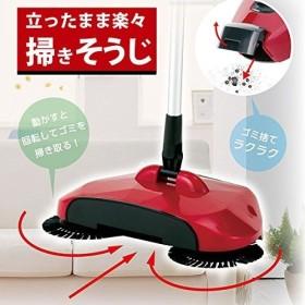 武田コーポレーション/電気必要なし/楽々お掃除/伸縮3段階/ゴミ捨て簡単【ハンディプラス スイーパー(HPS30112)】