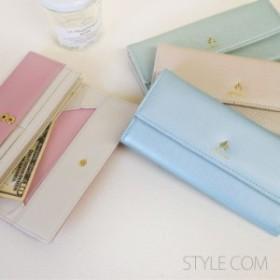 長財布 レディース財布 人気 ブランド ギャルソン財布  かぶせ財布 大容量財布
