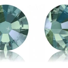【スワロフスキー#2058】12粒 XILION ラインストーン SS9 ブラック・ダイアモンド シマー (215SHI