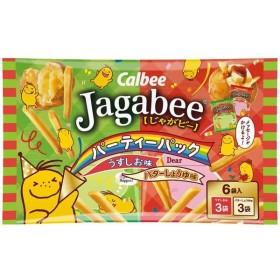 カルビー Jagabee(じゃがビー) パーティーパック 108g 1袋