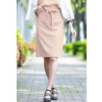 Viaggio Blu / 【洗濯機OK&セットアップ対応】アムンゼンサッシュベルト付きスカート