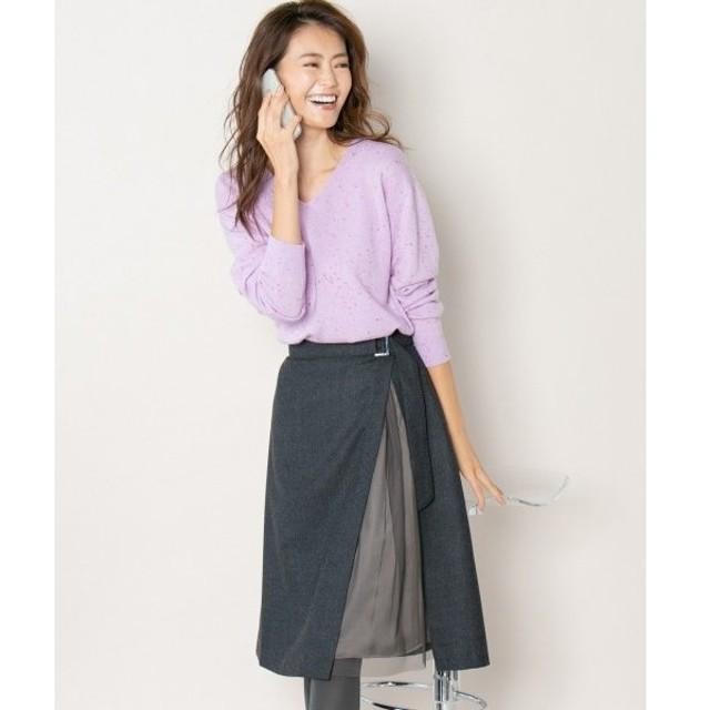 組曲 / クミキョク 【MORE12月号掲載】ウール スカート