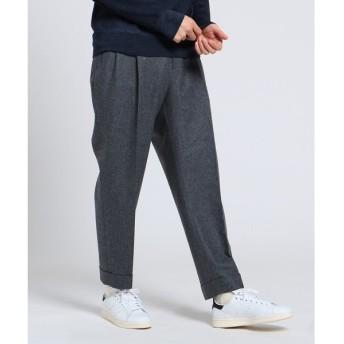 TAKEO KIKUCHI / タケオキクチ フランネルテーパードパンツ Fabric by Vitale Barberis CANONICO[ メンズ パンツ ]