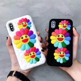 iPhone XS MAX iPhoneXR iPhoneX iPhone8 plus iPhone7 plus おしゃれ カバー スマホケース おしゃれ 花柄キャラクターシリコン