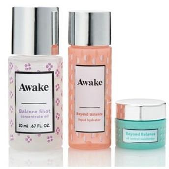 Awake  / アウェイク / スキンアウェイキング バランスショット コンセントレイトオイル キット / 3点セット バランスを整える