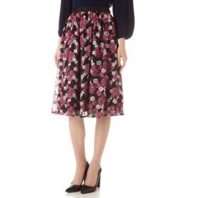 NATURAL BEAUTY / チュールドット刺繍スカート