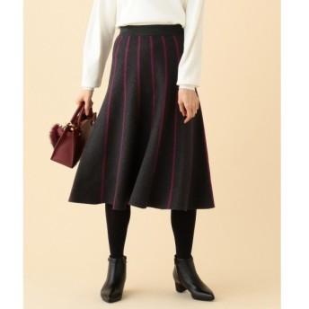 組曲 / クミキョク 【洗える】ストレッチセットアップ スカート