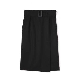 PINKY&DIANNE / ハイカウントフラノサイドベンツスカート