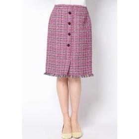 QUEENS COURT / 【大きいサイズ】ファンシータイトスカート